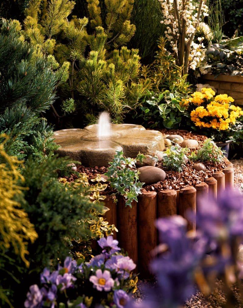 27 Water Fountain Ideas Garden Outline