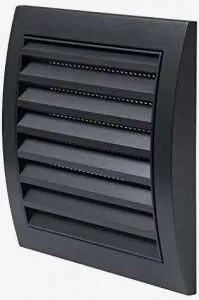 passive vents are easy to install into a garden building.