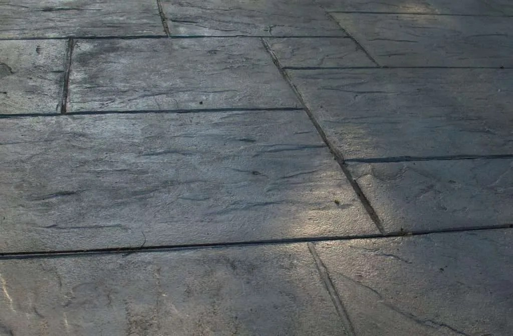 Using paving slabs for a base is simple and quick to install.