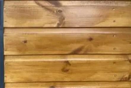 Log cabin exterior using the best treatment three-step method.