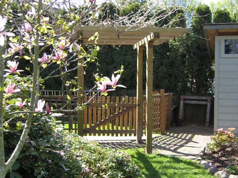 wooden garden plans