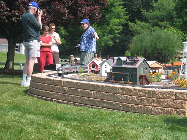 Raised Garden Railroad