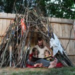 How to Build a Backyard Teepee (for Free!)