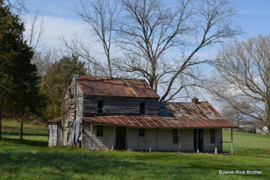 The Whitlock House, Green County, Kentucky.