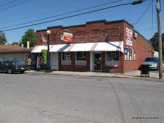 One of the commercial buildings in the North Main Street District.