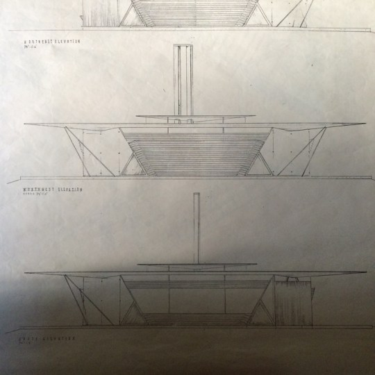 Goff's drawings for Triaero.