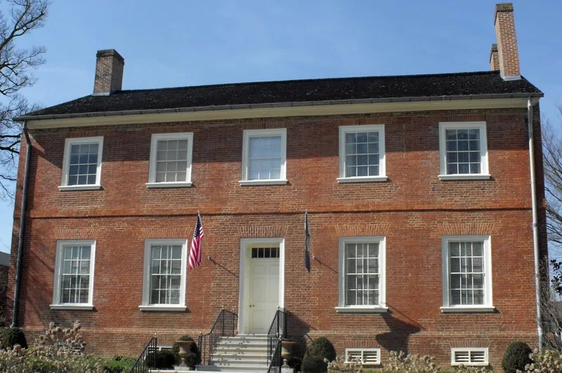 The Old Governor's Mansion in downtown Frankfort, Kentucky.