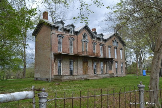 Breckinridge County is home to the mid-19th century (with later additions) Judge Joseph Holt House.