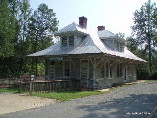 Depot, post office, and now museum.