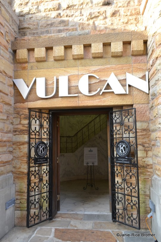 The entryway to Vulcan's Tower.