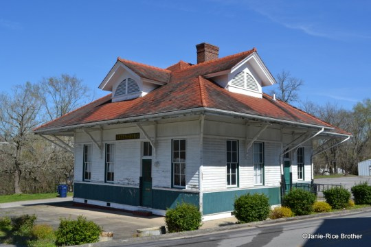 The Greensburg Passenger Depot in Greensburg, Kentucky.