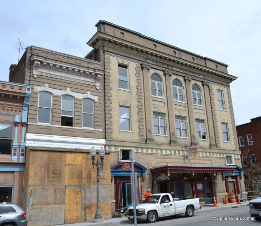 Clifton Forge Masonic Theatre, at one time the oldest operating theatre in Virginia.