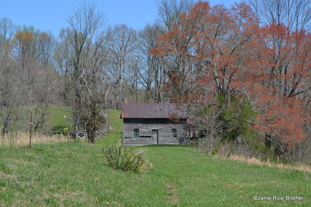 Small hall-parlor house, Monroe County, Kentucky.