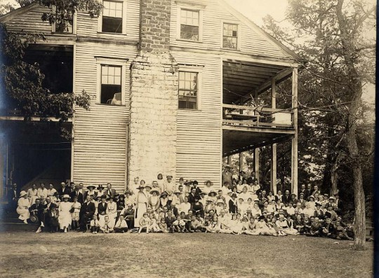 The 1911 Reunion at Oil Springs, Clark County, Kentucky.