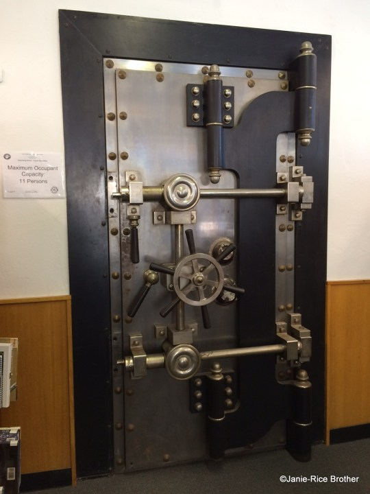 The Callicoon National Bank Building has been sensitively adapted to serve as the library and retains its original safe!