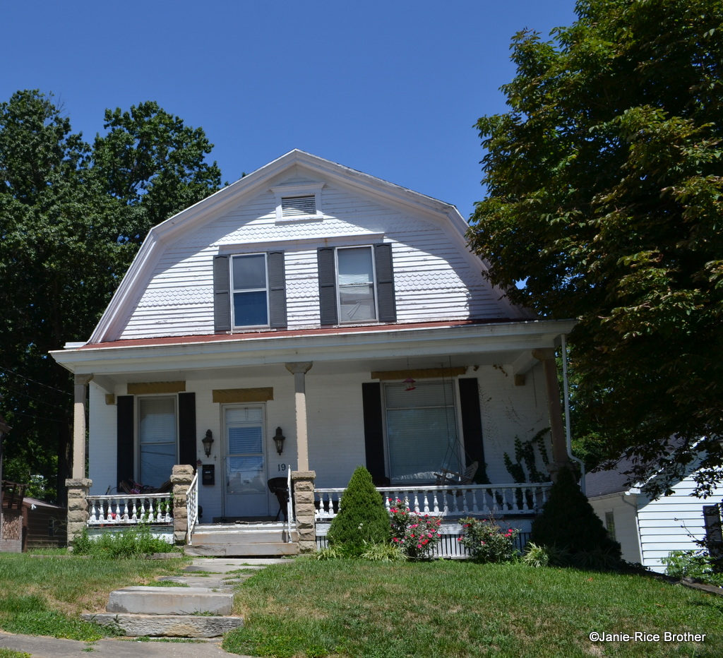 Dutch Colonial Revival Twins Mt Sterling Kentucky Gardens To Gables