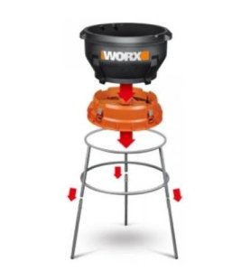 Worx WG430 can be assembled without tools
