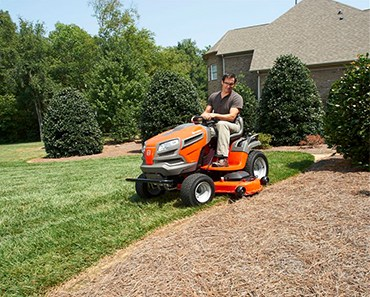 Husqvarna YTH24V48 24 HP Yard Tractor, 48-Inch featured