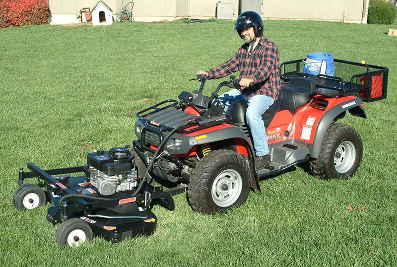 Front-Mounted Blade Mower Attachment