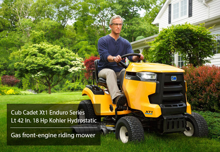 Cub Cadet Xt1 Enduro Series Lt 42 In. 18 Hp Kohler Hydrostatic Riding Mower