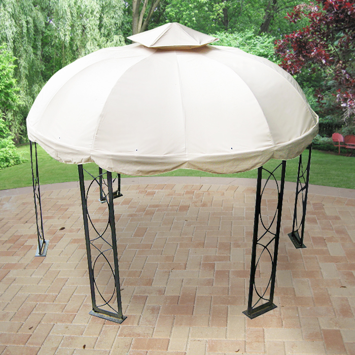 Lowes 12 Ft Round Gazebo Replacement Canopy S GZ1D Garden
