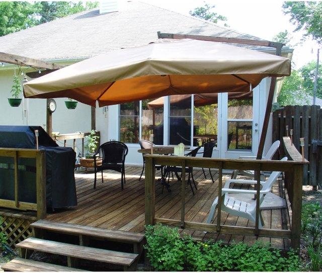 Replacement Canopy For Sams Club  Ft Teak Umbrella Garden Winds