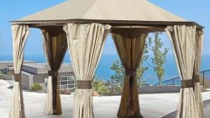 Replacement Canopy For GO Hexagonal Gazebo Garden Winds