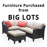 replacement patio cushions for big lots