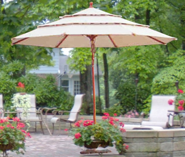 Replacement Canopy For 11 Ft Triple Tier Umbrella