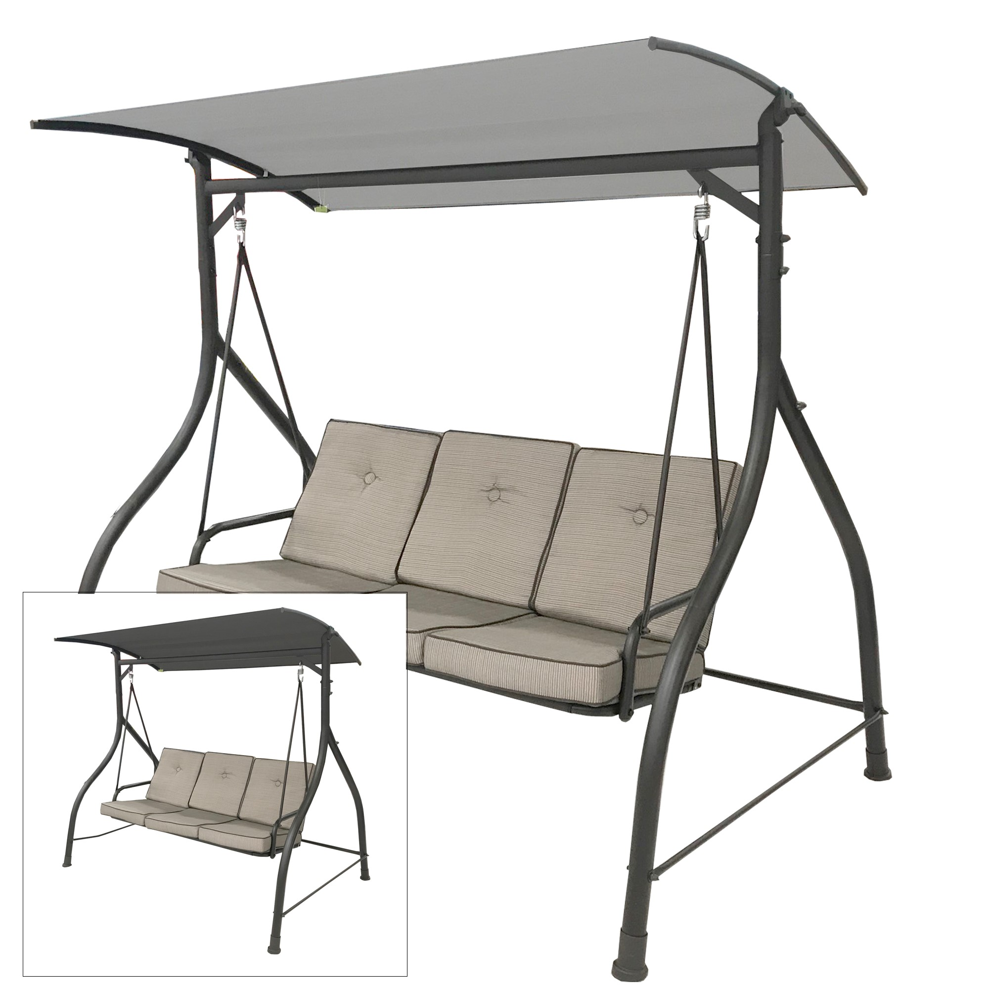 fry s replacement swing canopy garden