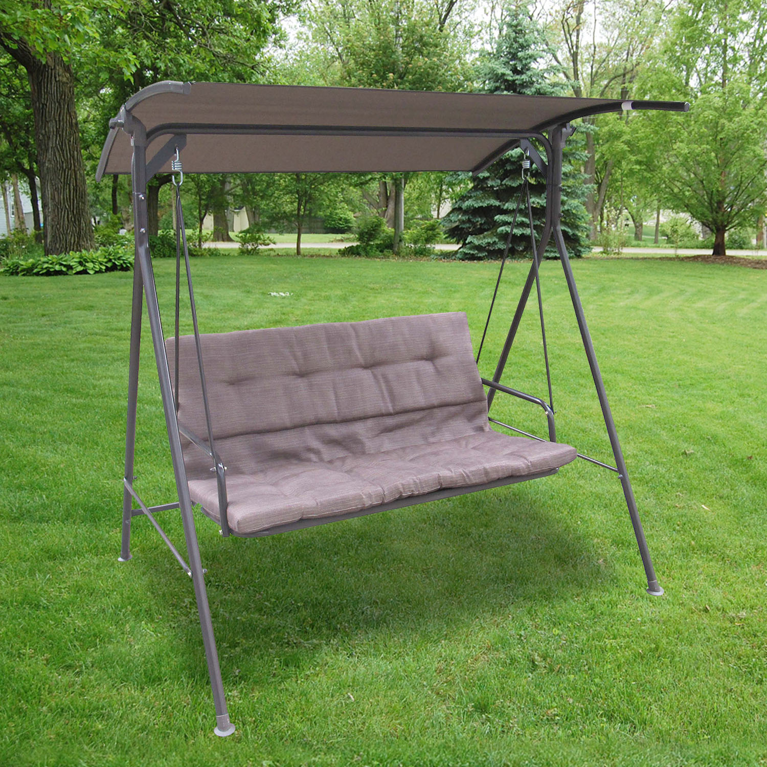 Two Seat Patio Swing With Canopy