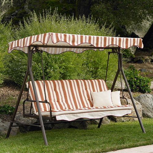 Home Trends Park Lake 3 Seater Futon Swing 001661485