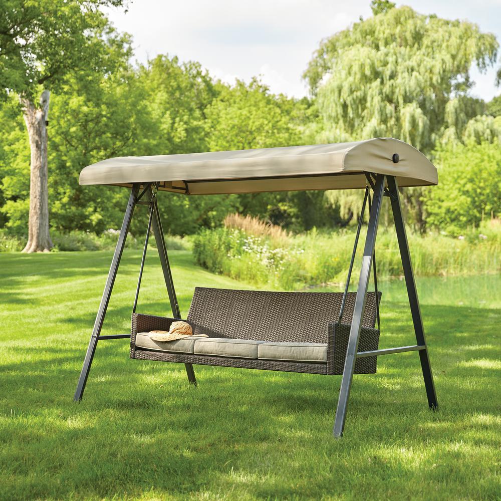 Replacement Cushion Set For Plaistow Wicker Swing Garden Winds