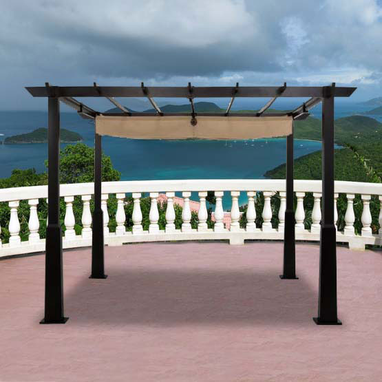 Smith Amp Hawken Windsor Pergola Replacement Canopy Garden Winds