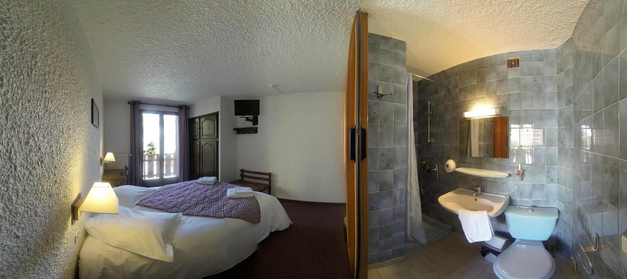 Chambre Hotel les Gardettes Orcieres