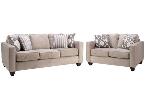 White Living Room Set Sale