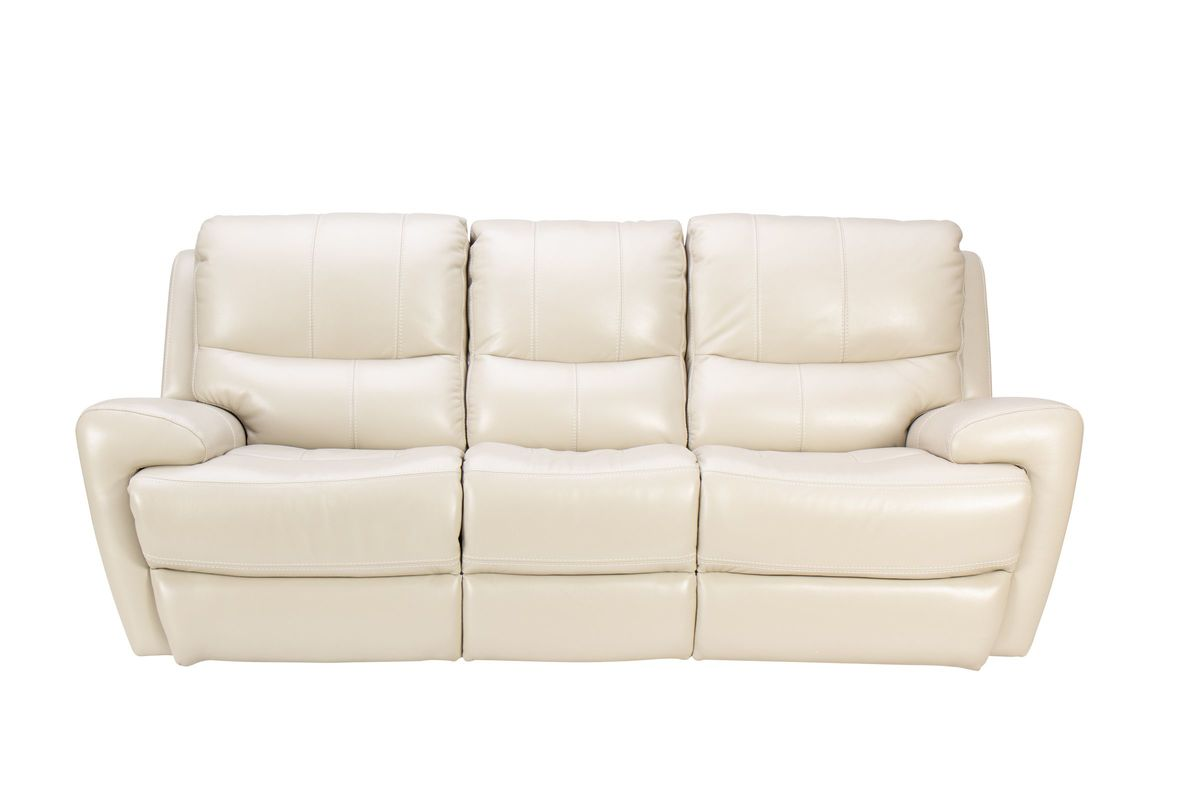 Andros Leather Power Reclining Sofa