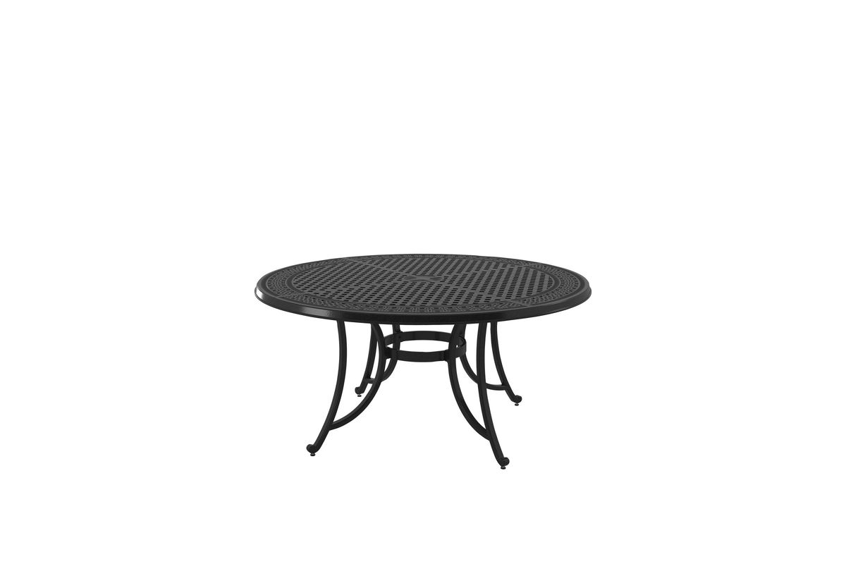 Burnella Large Round Dining Table By Ashley At Gardner White