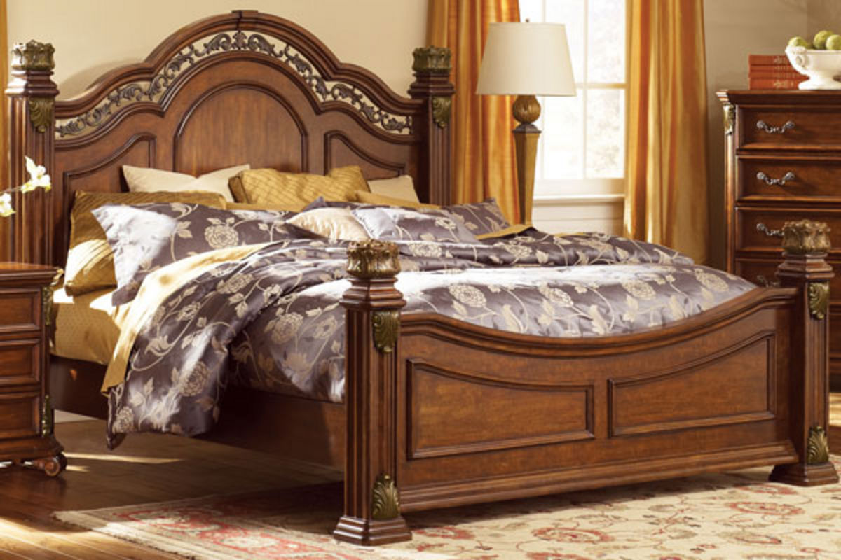 "maletto 3-piece queen bedroom set with 32"" led-tv"