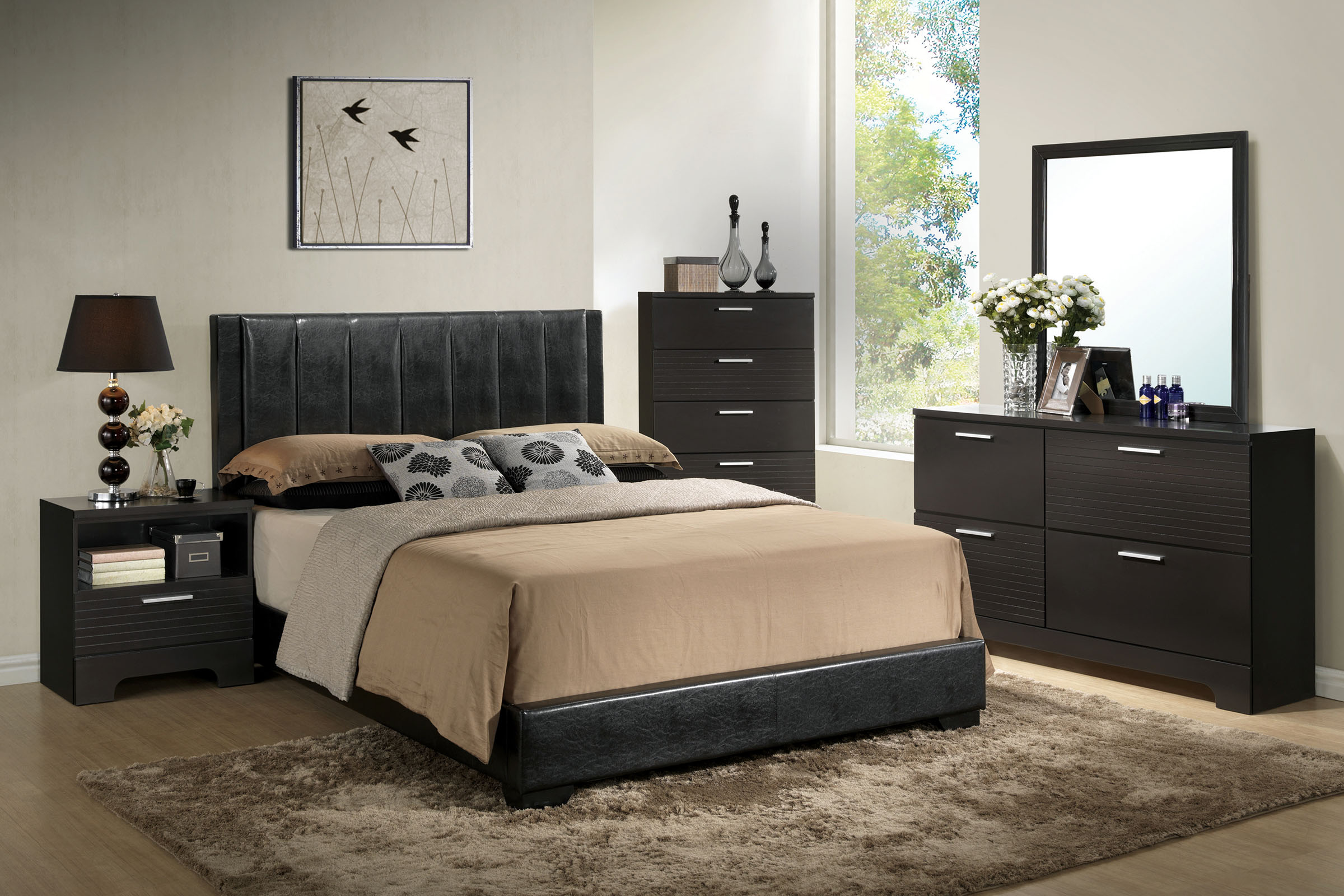 burbank 5-piece king bedroom set