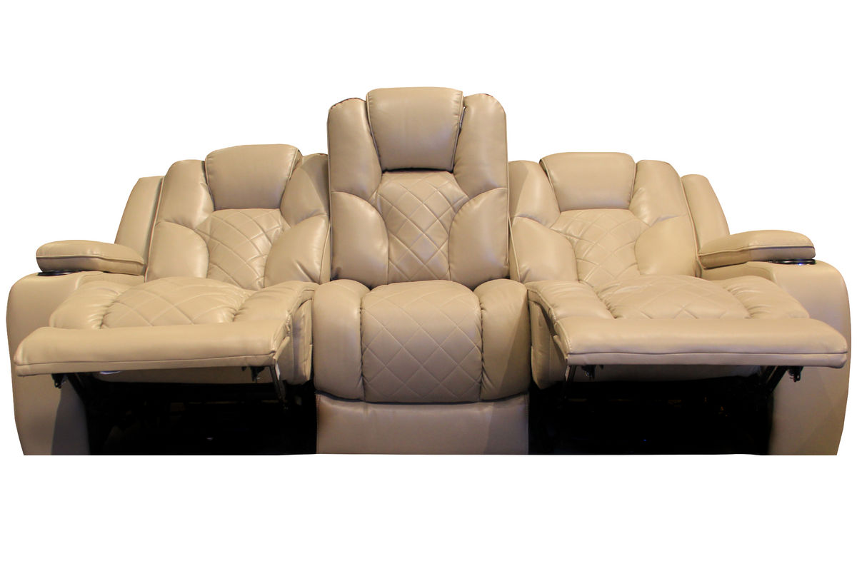 Turismo Power Reclining Sofa With Drop Down Table At