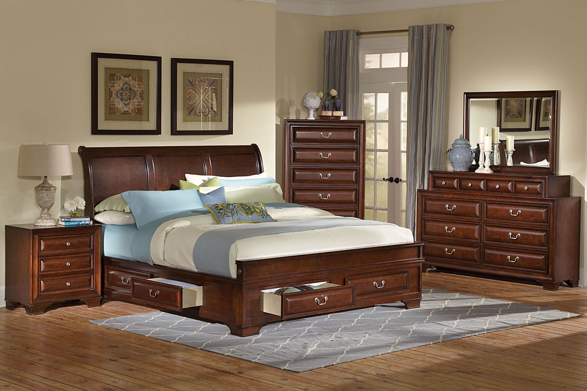 cadence queen storage bed