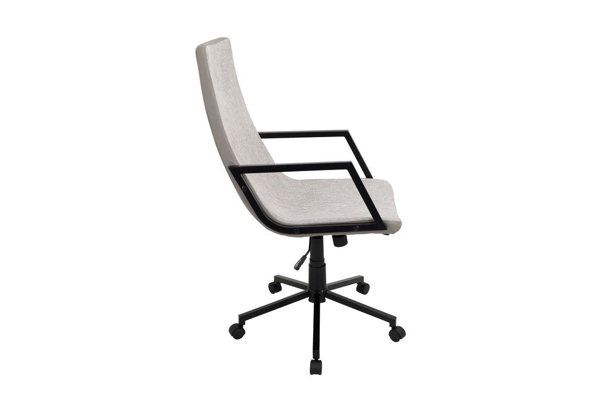 Senator Light Grey Office Chair By LumiSource At Gardner White