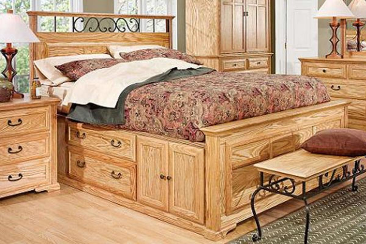 Thornwood Queen Size Captain Bed With Storage At Gardner White