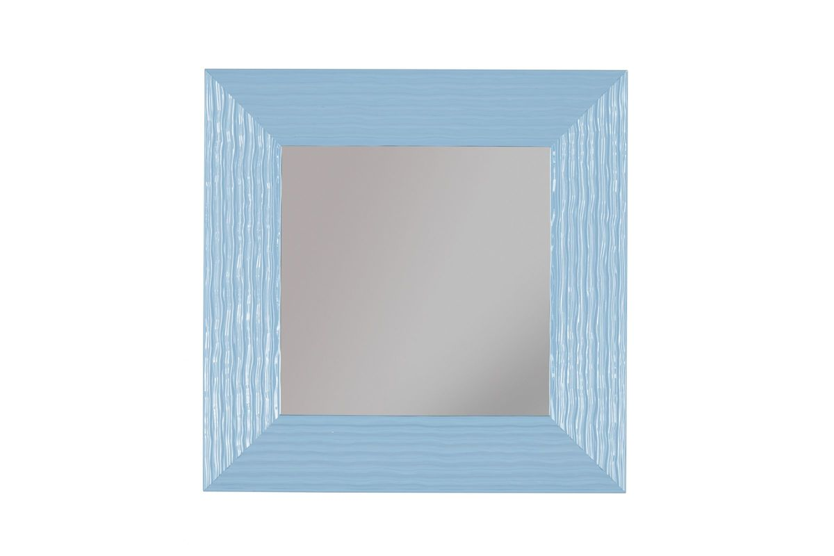 Odelyn Accent Mirror In Aqua By Ashley At Gardner White