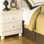 Cottage Retreat Two Drawer Night Stand In Cream Cottage By Ashley