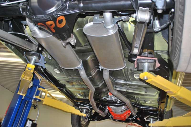 1969 chevelle exhaust ss exhaust