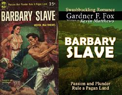 barbary slave gardner f fox kevin matthews historical romance kurt brugel