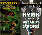 Kyrik and the wizard's sword gardner f fox sword and sorcery kurt brugel