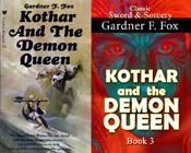kothar and the demon queen gardner f fox sword and sorcery kurt brugel